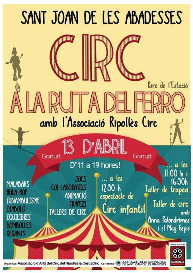 Circ a la Ruta – Catalunya (Saturday 13th April)