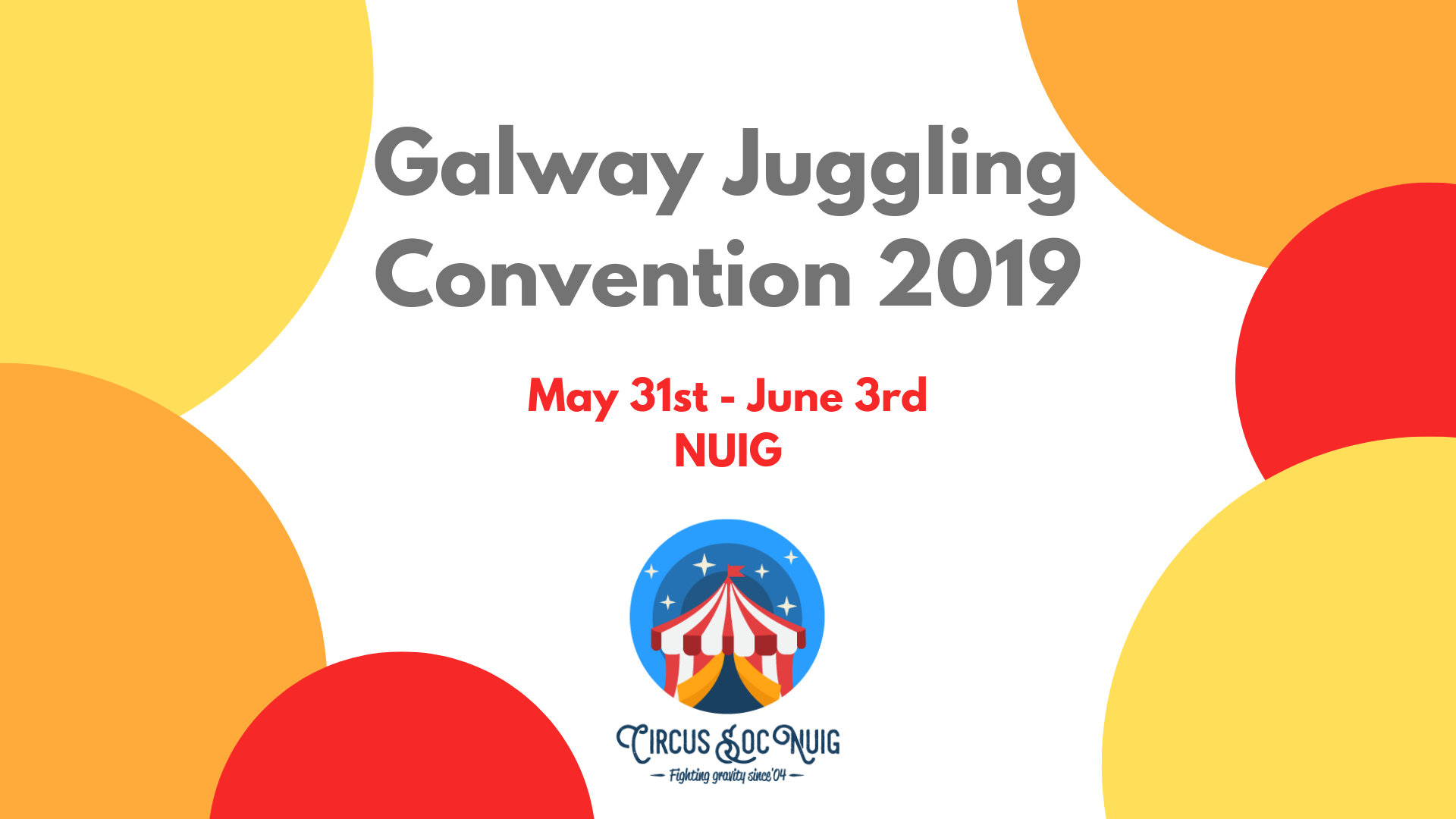 Galway Juggling Convention 2019